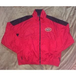 Vintage Coca-Cola Racing windbreaker track jacket